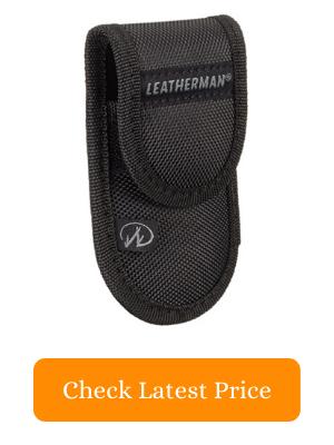10. LEATHERMAN 930381 Ballistic Nylon Multitool Black Sheath