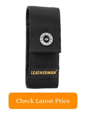 """3. Leatherman - Premium Nylon Snap Sheath Fits 4"""" Multitools Medium"""
