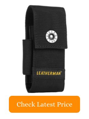 7. LEATHERMAN Premium Nylon Snap Sheath with Pocket Fits