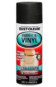 2. Rust-Oleum - Automotive Fabric & Rustoleum Vinyl Spray Paint